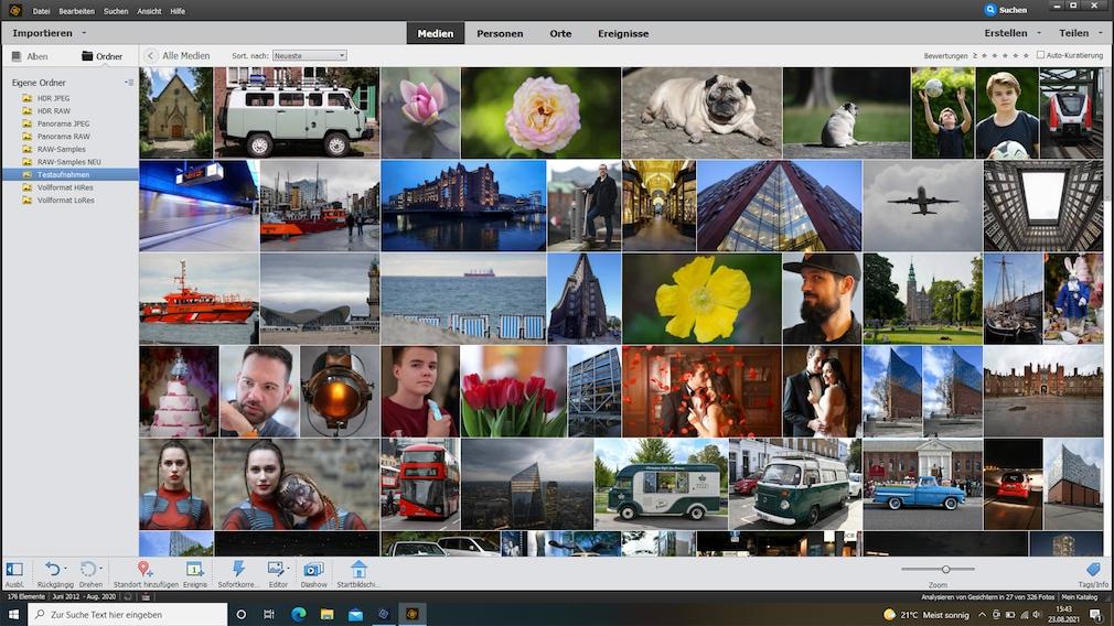 Adobe Photoshop Elements 2021 im Test