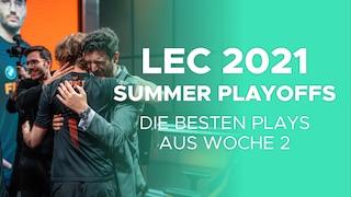 LEC Summer Playoffs 2021 Woche 2