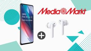 Oppo-Bundle bei Media Markt: Find X3 Lite 5G plus In-Ears Enco W51 f�r unter 370 Euro©iStock.com/ -VICTOR-, iStock.com/ Shomiz, Media Markt
