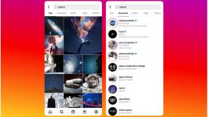 Instagram Suche©Instagram