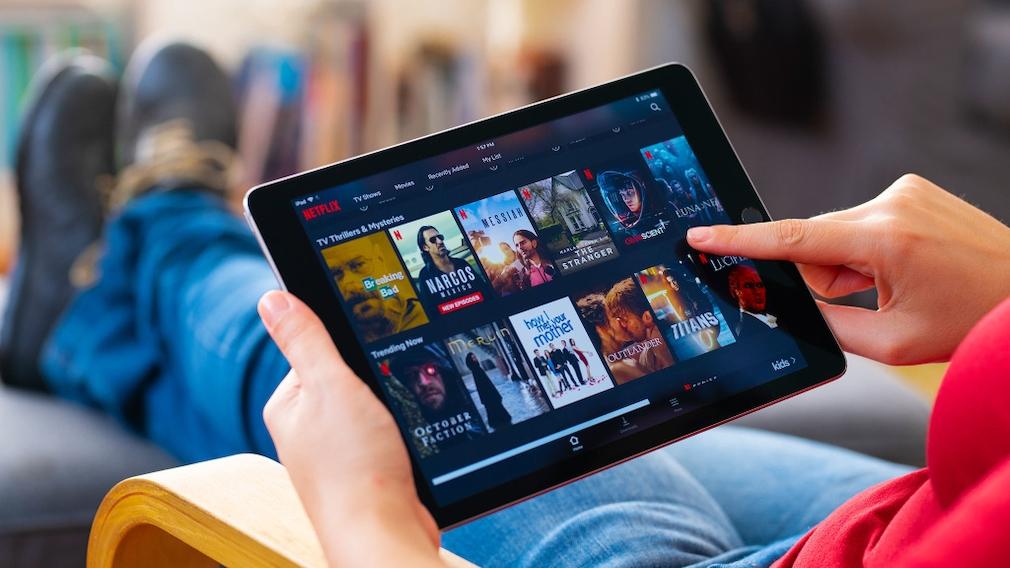 Netflix-App auf einem iPad©iStock.com/hocus-focus