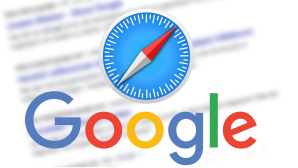 Safari mit Google©Apple, Google