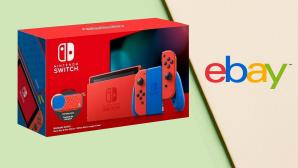 Ebay-Deal: Nintendo Switch V2 Mario Blue & Red Edition günstiger kaufen©Nintendo, Ebay