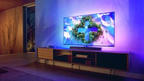 Philips OLED936: Die serienm��ige Soundbar von B&W verspricht guten Klang, Ambilight gute Stimmung.©Philips / TP Vision