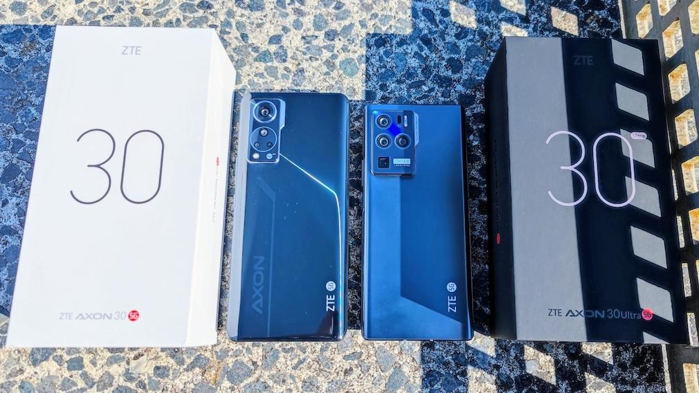 ZTE Axon 30 und ZTE Axon 30 Ultra