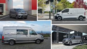 Elektro-Nutzfahrzeuge©VW, Citroen, Toyota, Peugeot