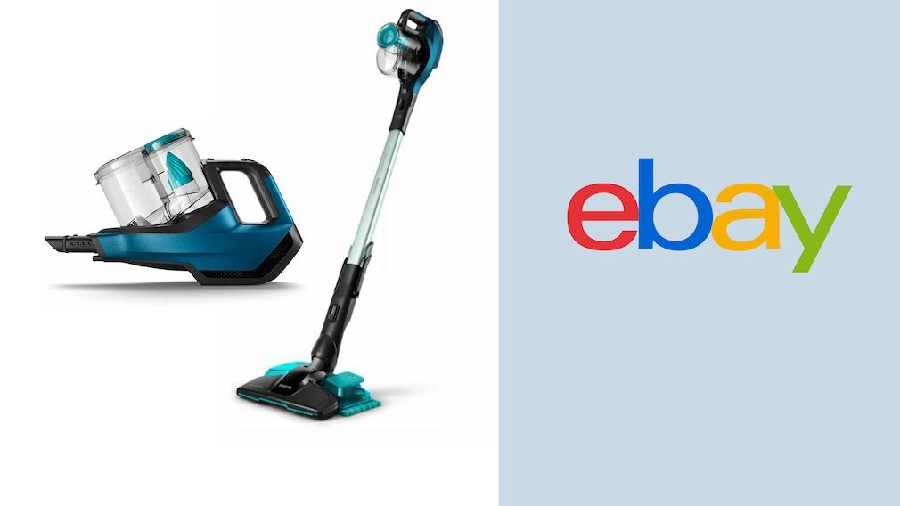 Akku-Staubsauger im Ebay-Angebot: Philips zum Sparpreis