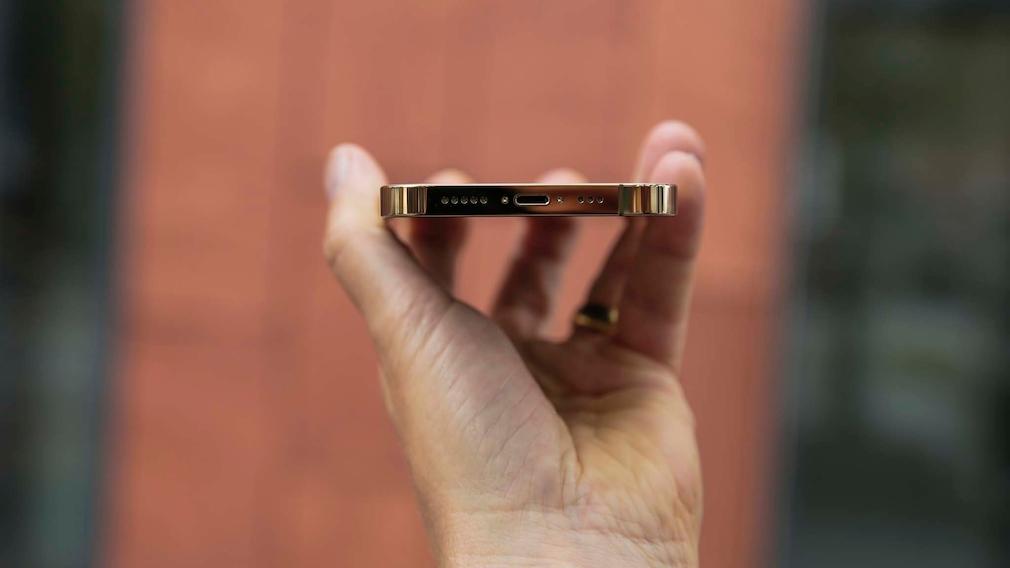 iPhone 13 Pro: Unterseite ohne Klinkenbuchse