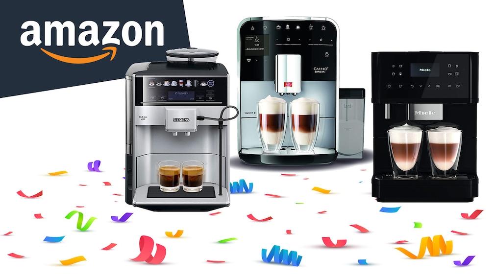 Amazon September Angebote für Kaffeevollautomaten: Angebote mit Preisnachlass sichern