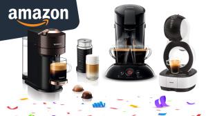 Kaffeemaschinen-Deals bei Amazon©Amazon, iStock.com/Ket4up