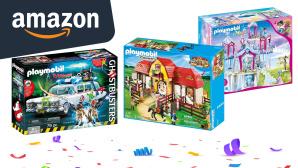Amazon September Angebote Playmobil: Deals mit satten Rabatten schnappen©Amazon, iStock.com/Ket4up, Playmobil