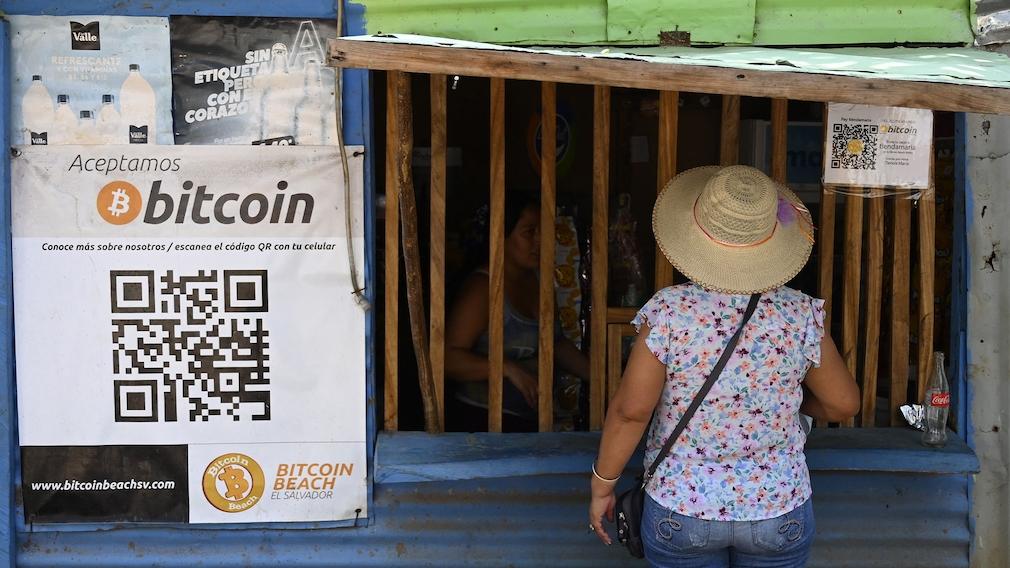 Bezahlung per Bitcoin in El Salvador