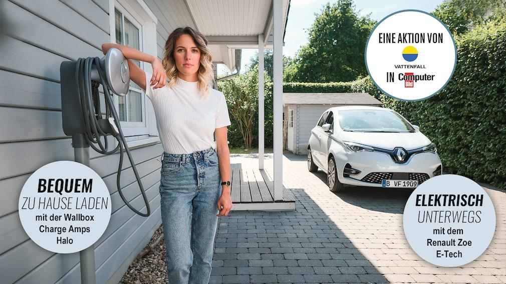Gewinnen Sie eine Tanke@home und einen Renault Zoe