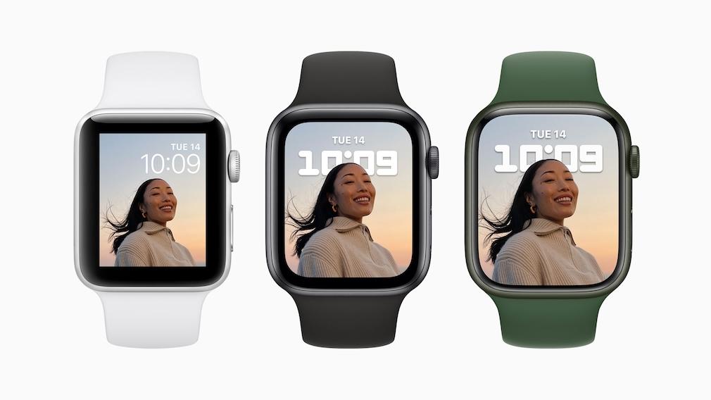 Apple Watch 3, 6 und 7