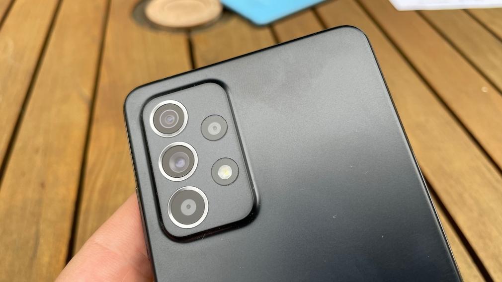 Galaxy A52S: Die Kameras