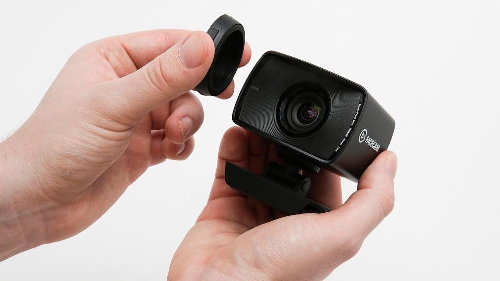 Elgato Facecam im Test: Linsenabdeckung