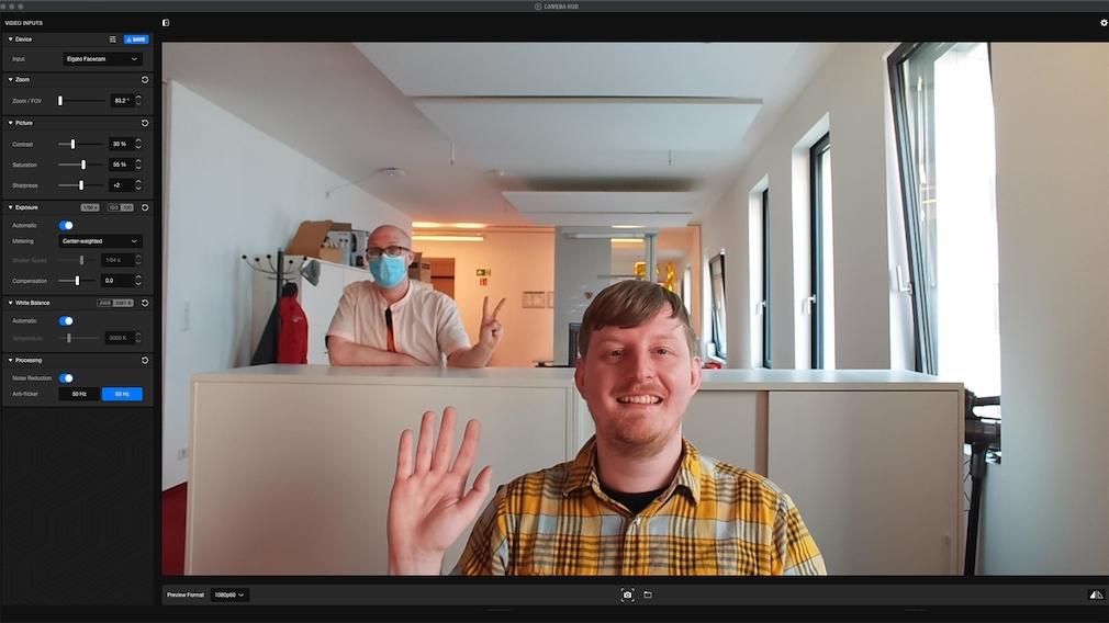 Elgato Facecam im Test: Software
