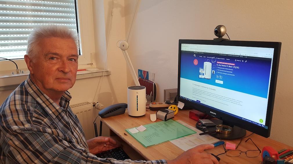 Lutz Kornau testete den O2 Home-Spot für COMPUTER BILD