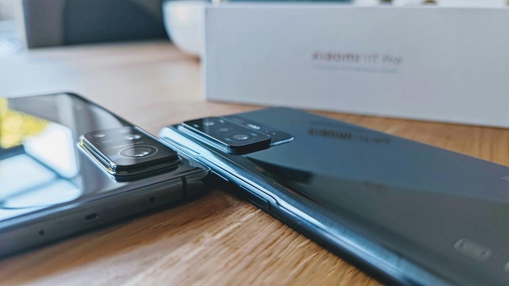 Xiaomi Mi 10T Pro und Xiaomi 11T Pro