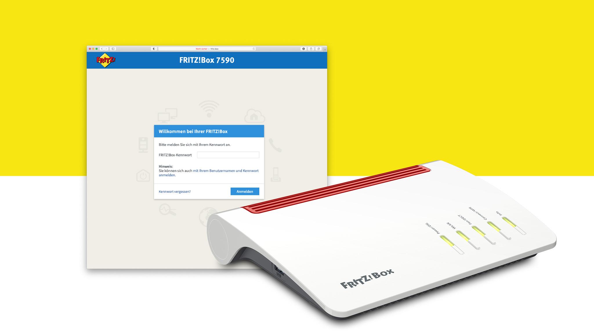 FritzBox nicht erreichbar So lösen Sie das Problem   COMPUTER BILD