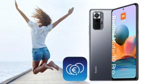 Bewerben Sie sich als Lesertester und erhalten Sie ein Xiaomi Redmi Note 10 Pro, mit dem Sie die O2 Money-App ausgiebig testen können!©O2, Xiaomi, COMPUTER BILD