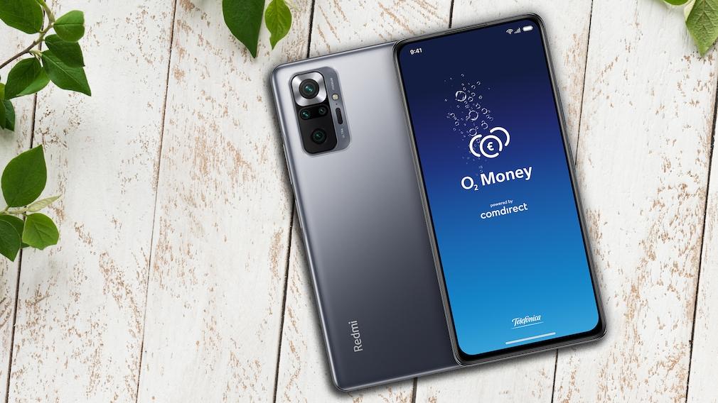 Bewerben Sie sich und testen Sie die O2 Money-App – und erhalten ein Xiaomi Redmi Note 10 Pro dazu!