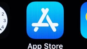 Logo des App Store von Apple©dpa-Bildfunk