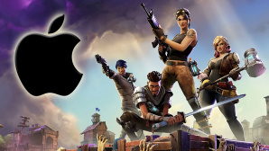 Forenite mit Apple-Logo©Epic Games / Apple