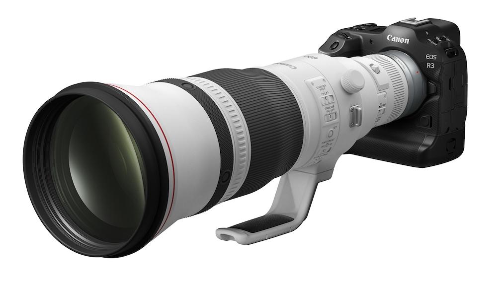 Canon EOS R3 mit RF 600mm f4 L IS USM