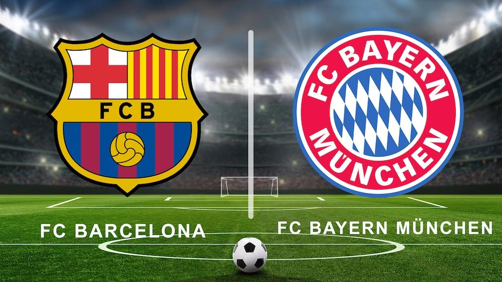 FC Barcelona gegen FC Bayern München