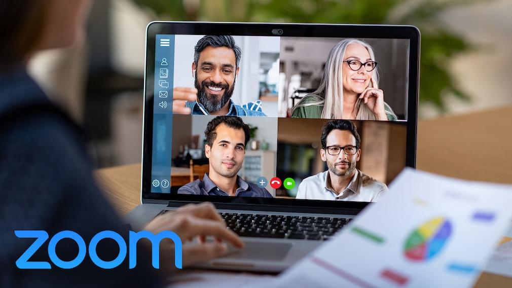 Videochat-Software: Zoom bekommt neue Funktionen Die Videochat-Software erhält in den kommenden Monaten diverse Updates mit vielen neuen Funktionen.