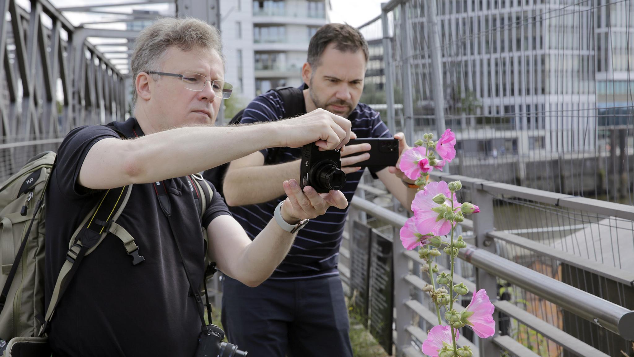 Foto-Vergleich Kamera gegen Smartphone: Nahaufnahme (Teil 2/5)