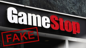 Fake-Shop unter dem Namen GameStop©Thomas Pajot/iStock.com/, Michael M. Santiago / Getty Images