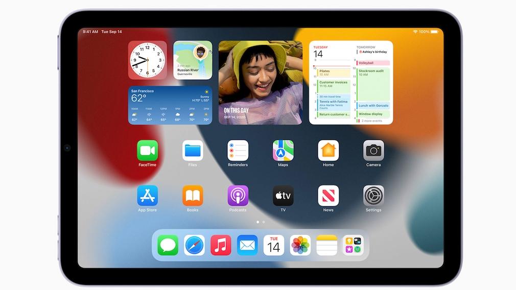 iPad mini mit iPadOS©Apple