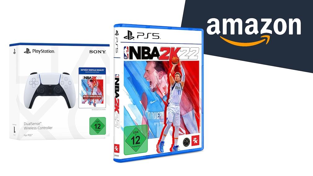 Amazon: PS5-Controller inklusive NBA 2K22