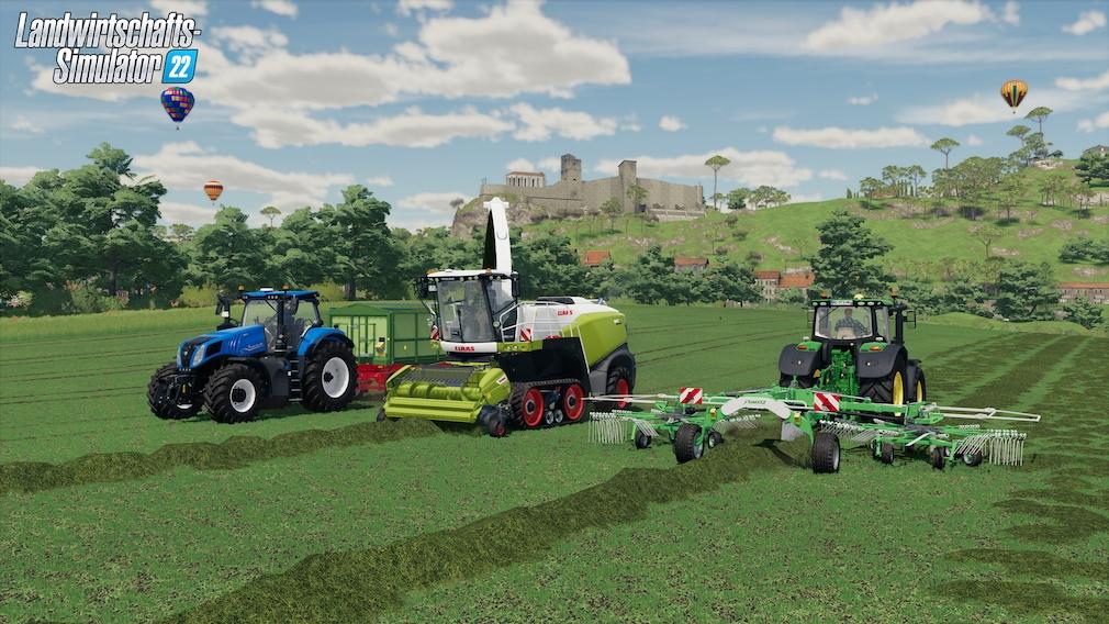 Landwirtschafts-Simulator 22 Crossplay