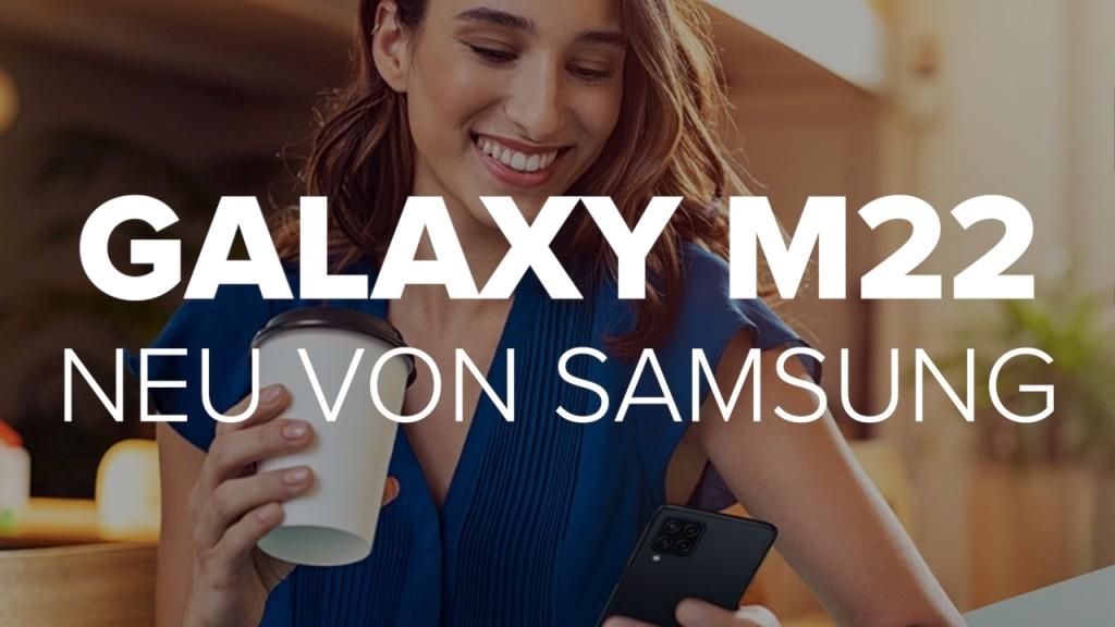 Galaxy M22: Neu von Samsung