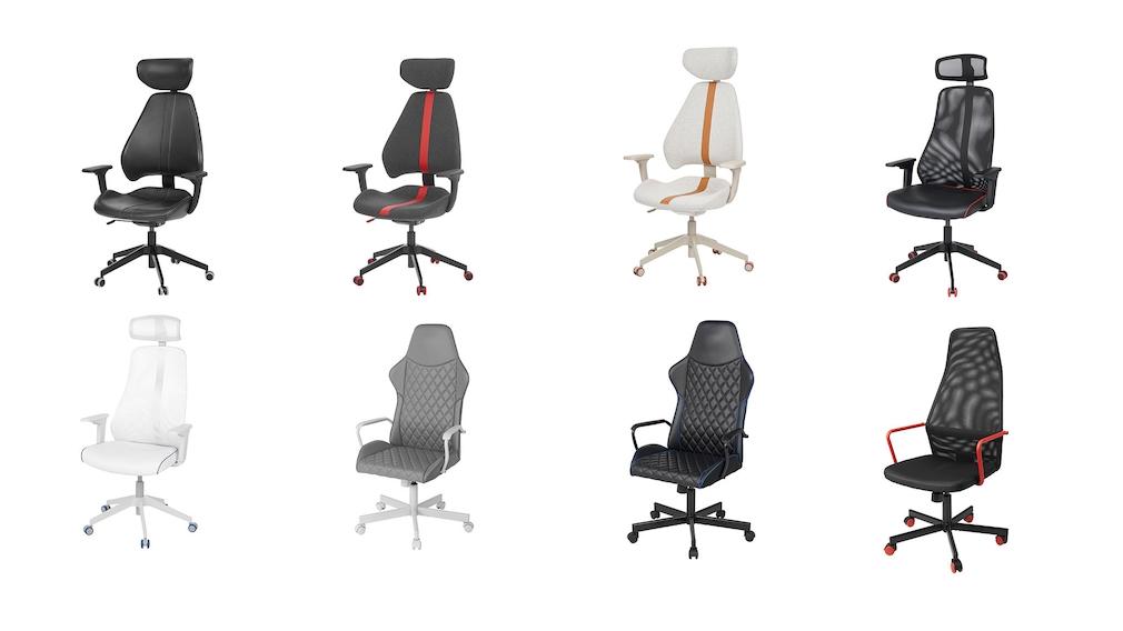 Zocker-Zimmer von IKEA: Gaming-Stühle