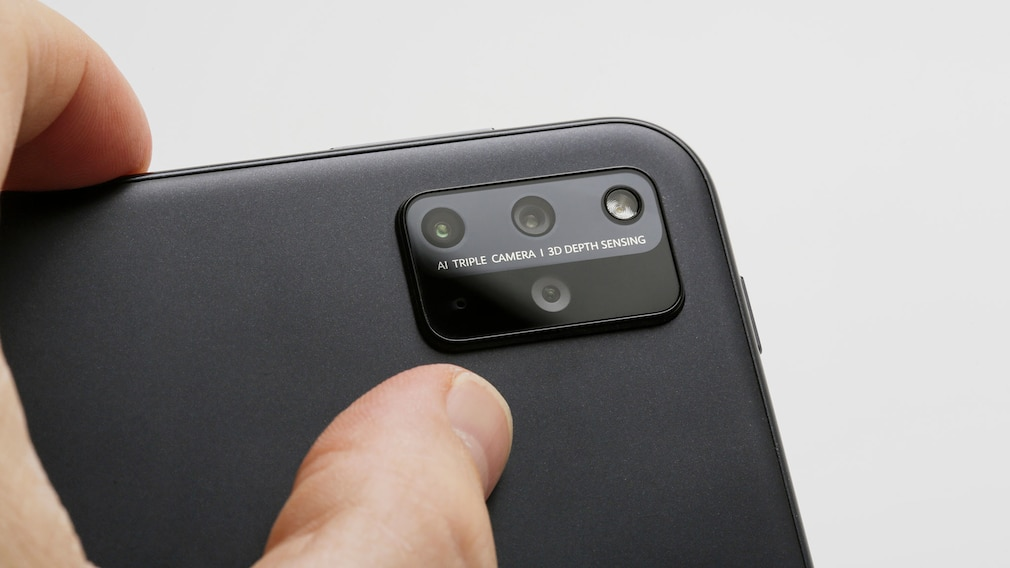 Kamera des Huawei MatePad Pro 12.6 in der Nahaufnahme.