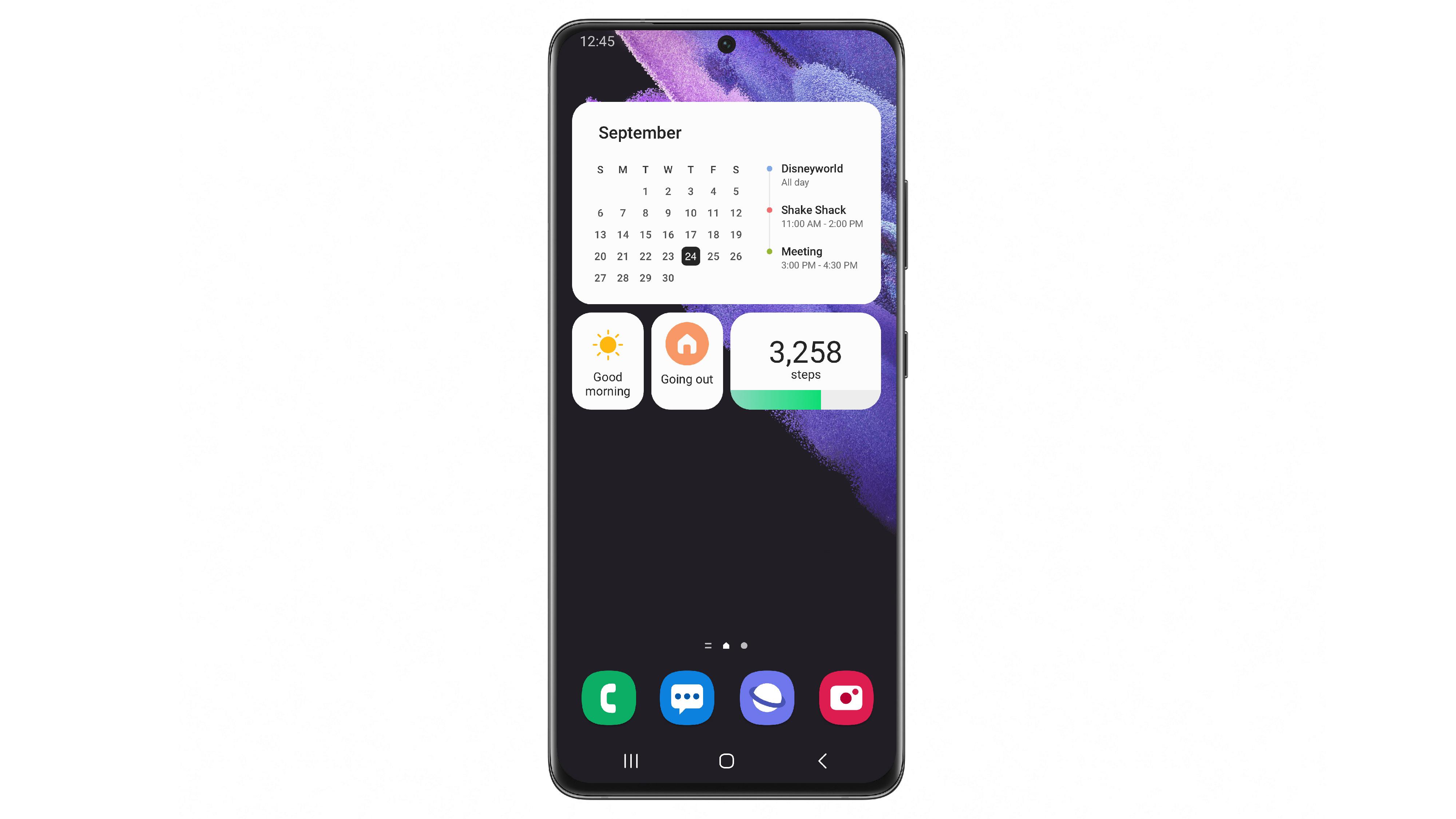 Android 12 bei Samsung: So sieht One UI 4.0 aus