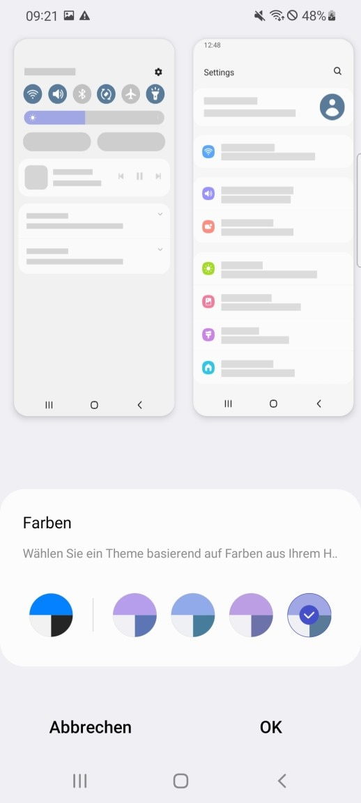 Themes One UI 4.0