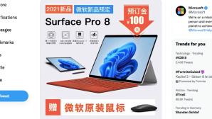 Twitter: Surface Pro 8©Twitter.com