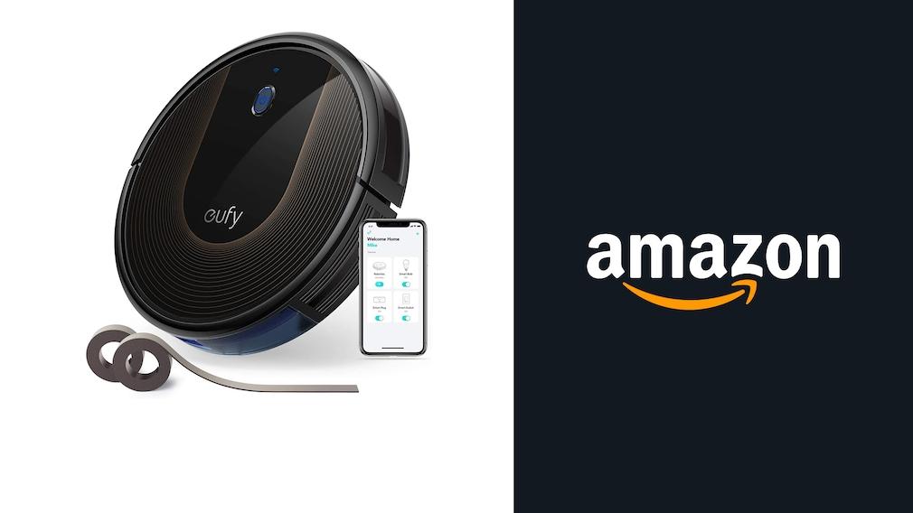 Saugroboter bei Amazon im Angebot: Saubermann von Eufy zum halben Preis!