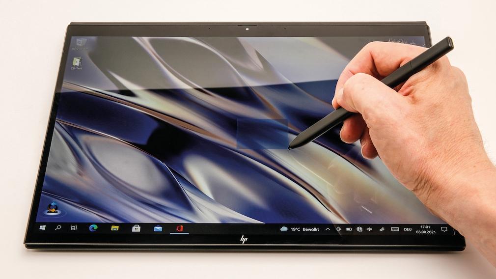 HP Elite Folio Touchscreen mit Stiftbedienung