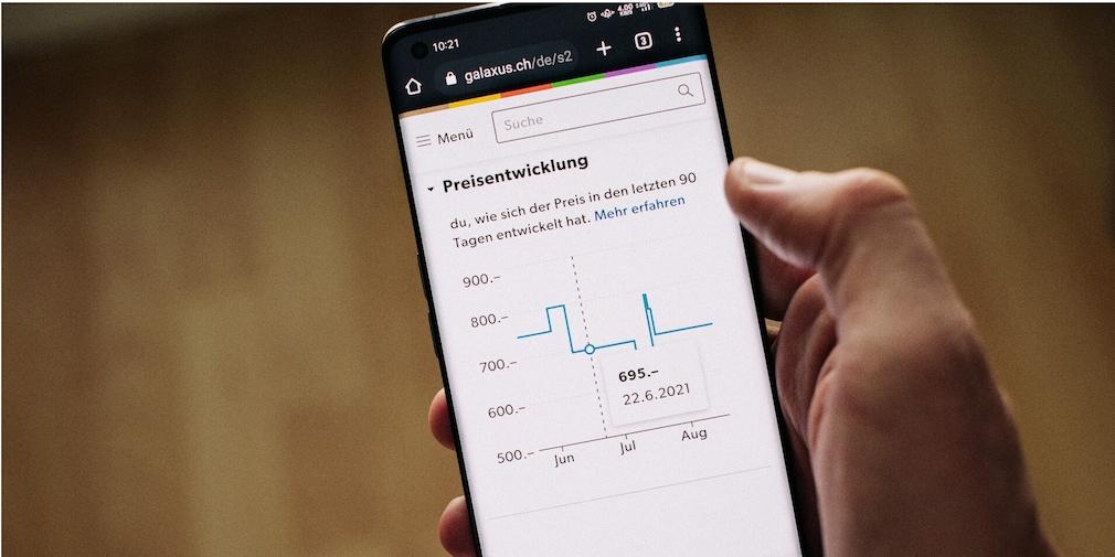 Galaxus-Onlineshop mit Preistransparenz