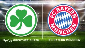 Greuther Fürth –Bayern live sehen©iStock.com/ FotografieLink, FC Bayern München, SpVgg Greuther Fürth