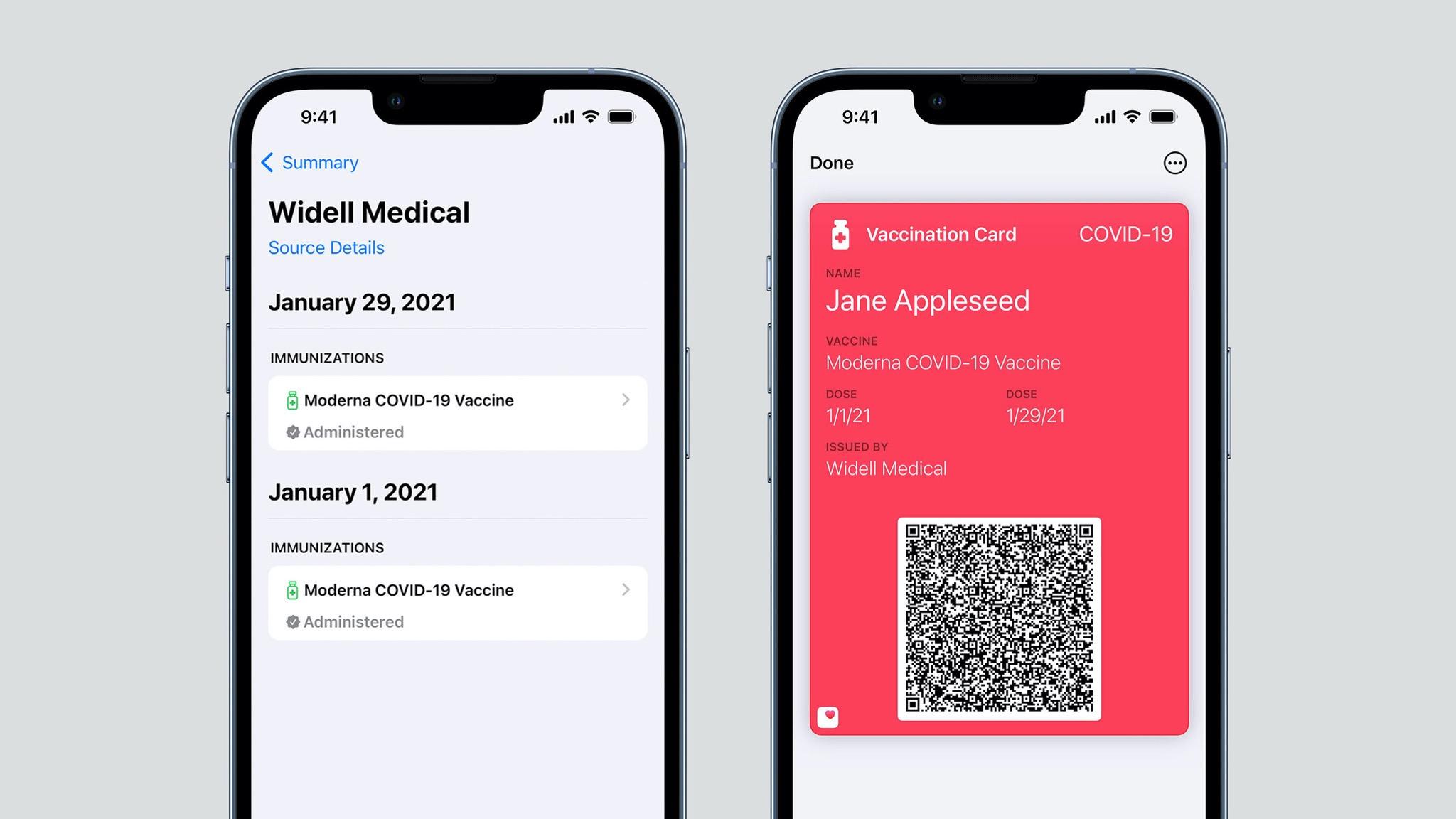 iOS 15.1: Impfnachweis wandert in die Wallet