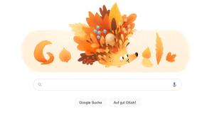 Google-Doodle mit Igel©Google