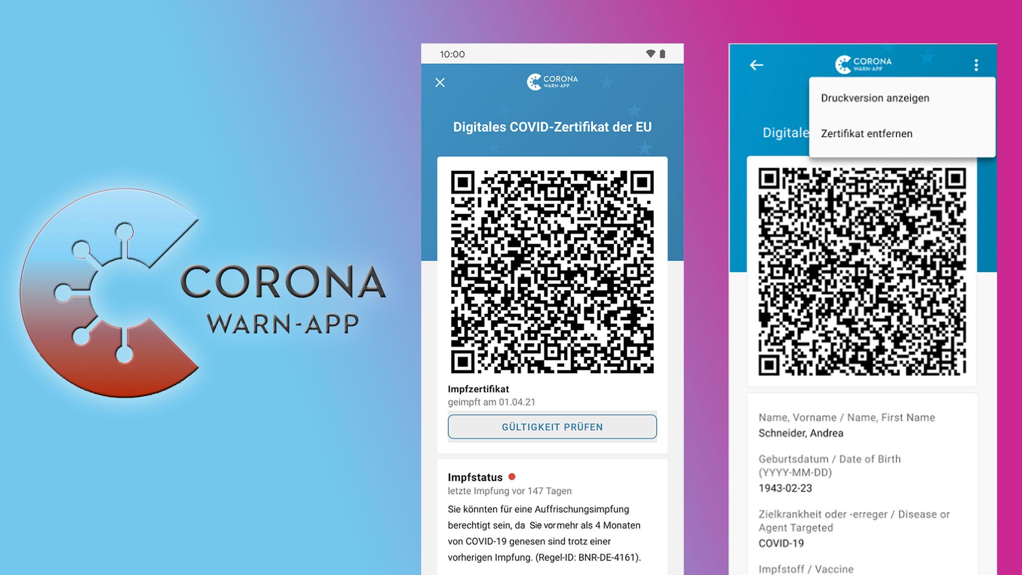 Corona-Warn-App: Version 2.10 ab sofort verfügbar