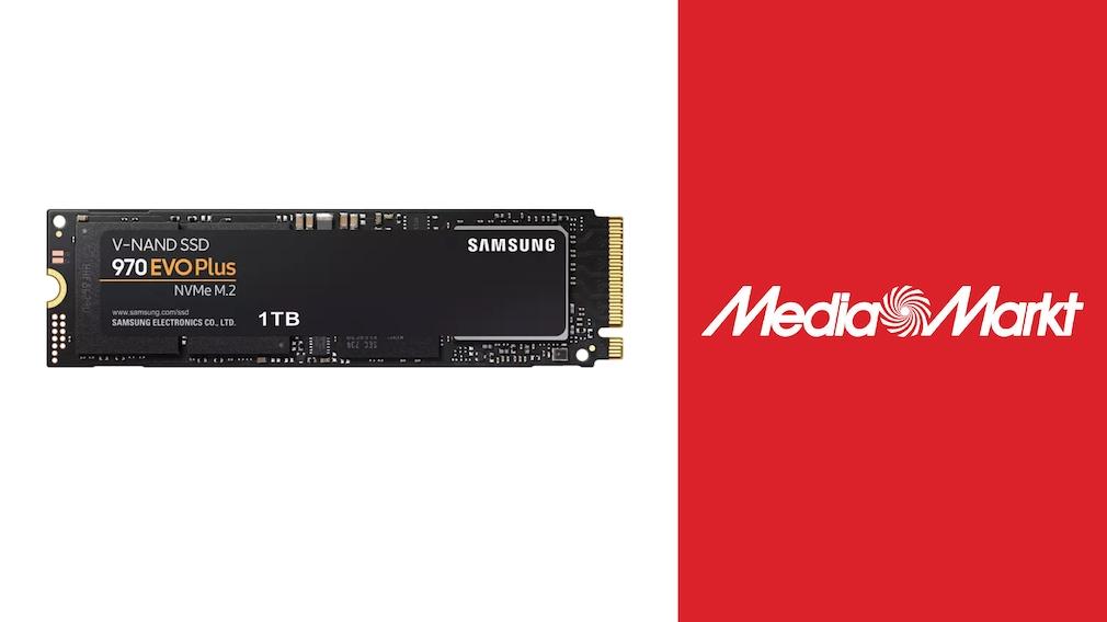 Samsung-SSD bei Media Markt im Angebot: 970 Evo Plus stark reduziert